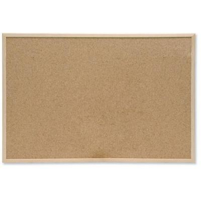 5star prikbord: Noticeboard Cork with Pine Frame 600 x 400 mm - Bruin