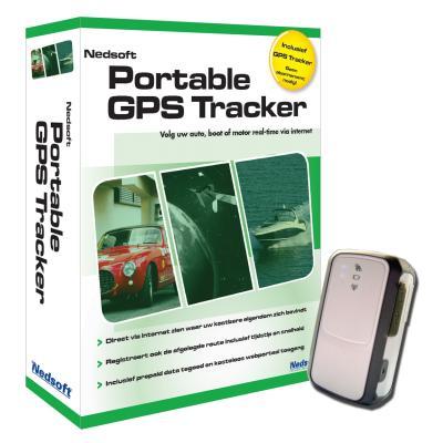 Nedsoft boekhoudpakket: Portable GPS Tracker