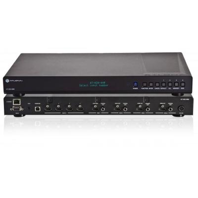 Atlona video switch: 4 by 4 HDMI Matrix Switcher - Zwart