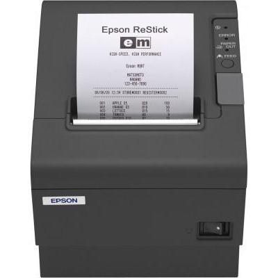 Epson pos bonprinter: TM-T88IV ReStick (346A1): USB, PS, EDG, EU - Zwart
