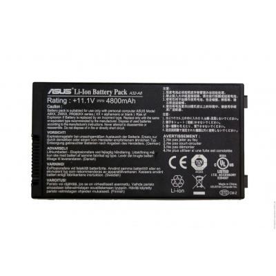 Asus batterij: Li-Ion 6-Cell - Zwart
