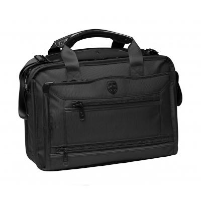 Ellehammer tas: Oslo Business - Laptoptas - Large - 15.6 inch / Zwart