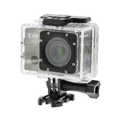 König actiesport camera: Full HD action cam GPS en Wi-Fi, LCD Screen, HDMI, USB, Micro SD Card - Zwart
