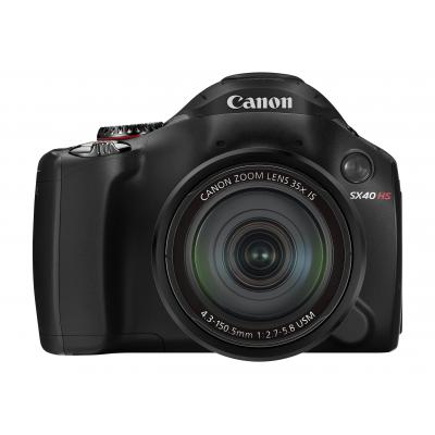 Canon digitale camera: PowerShot SX40 HS - Zwart