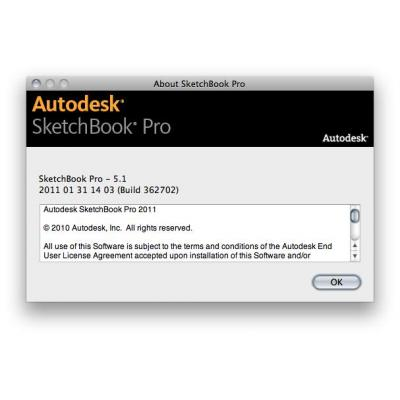 Autodesk software: SketchBook Pro