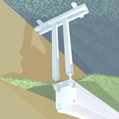 Projecta FlexScreen 40-60 cm Muur & plafond bevestigings accessoire - Wit