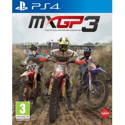Milestone srl game: MXGP 3: The Official Motocross Videogame  PS4