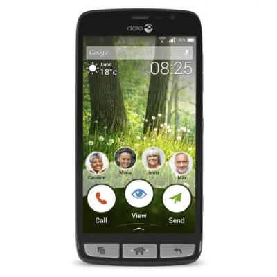 Doro smartphone: Liberto 825 - Zwart