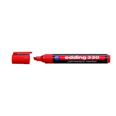 Edding marker: 330 - Zwart, Rood