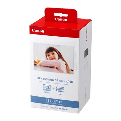 Canon KP-108IN Fotopapier - Rood, Wit