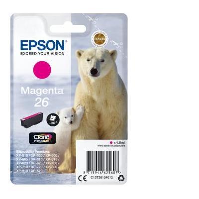 Epson inktcartridge: 4.5ml, Magenta