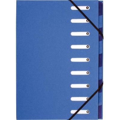 Exacompta organixer: Forever, A4, Gerecycleerd papier, Licht blauw