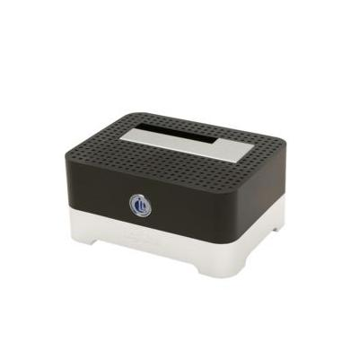 Logilink HDD/SSD docking station: USB 3.0 Quickport - Zwart, Wit