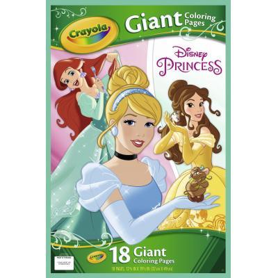 Crayola kleurplaat en boek: GCP Disney Princess