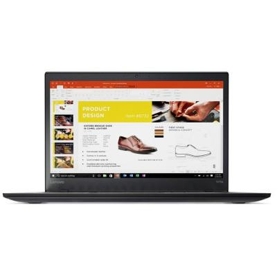 Lenovo laptop: ThinkPad T470s - Zwart