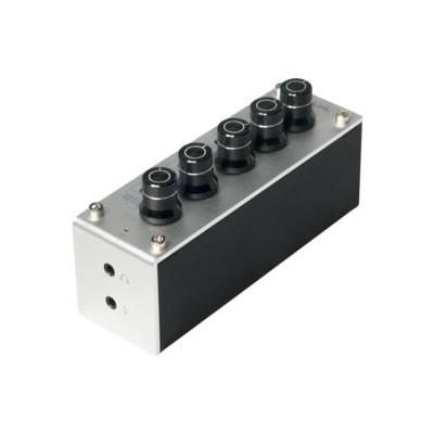 LogiLink Portable Tri-Tone Equalizer Control and Headphone Amplifier Koptelefoon versterker - Titanium