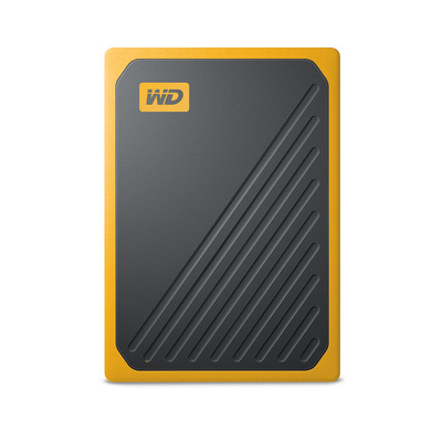 Sandisk My Passport Go - Zwart, Oranje