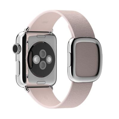 Apple horloge-band: 38mm Soft Pink Modern Buckle, Small - Roze