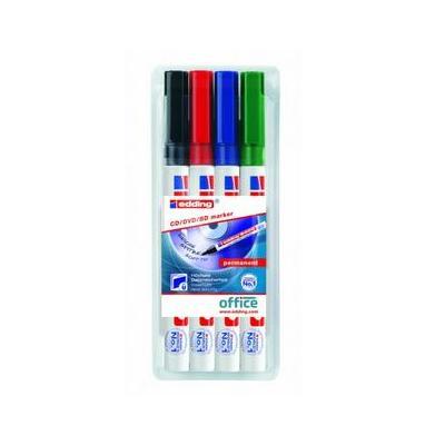 Edding marker: 8400 cd/dvd/bd marker - Multi kleuren