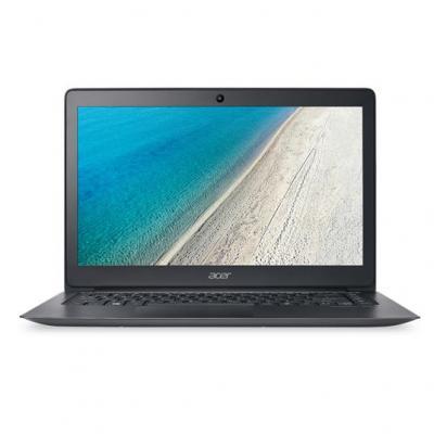 """Acer laptop: TravelMate X3 TMX349-G2-M-71Y1 - 14"""" i7 8GB RAM 512GB SSD - W10 Pro - Zwart"""