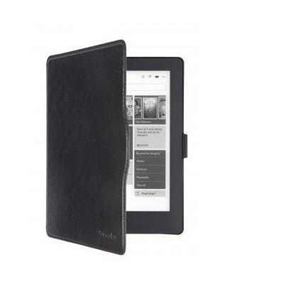 Gecko e-book reader case: Waterproof Slimfit cover for Kobo Aura H2O (edition 2), Black - Zwart