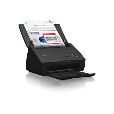 Brother scanner: ADS-2100 - Desktop scanner - 24 ppm - dubbelzijdig - geleverd met professioneel software pakket - Zwart