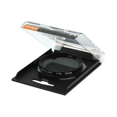 CamLink Circular polarising filter, 49mm Camera filter - Zwart