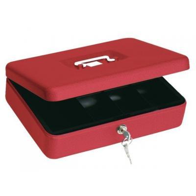 Beaumont geldkist: Cashbox 44 red - Rood