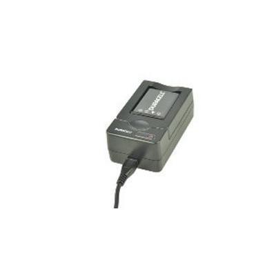 Duracell oplader: USB, 5V, Replacement f/ Fujifilm NP-95 - Zwart