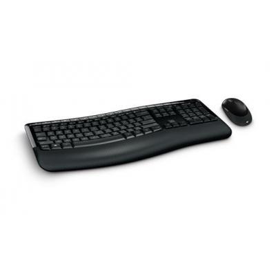 Microsoft 5050 - QWERTY toetsenbord - Zwart