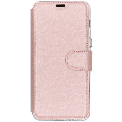 Xtreme Wallet Booktype Samsung Galaxy A8 (2018) - Rosé Goud / Rosé Gold Mobile phone case