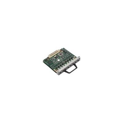 Cisco netwerkkaart: 8-port MIX multichannel T1/E1 port adapter with CSU/DSU (Refurbished LG)
