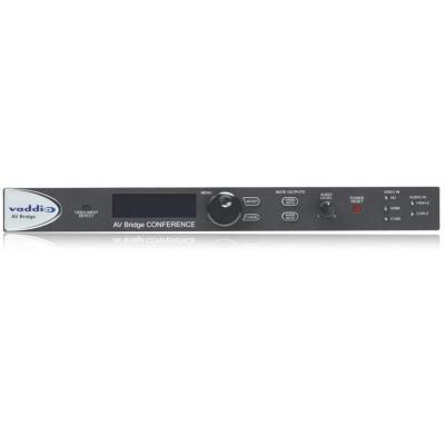 Vaddio : 1440 x 900px, 1080p, RJ-45, USB 2.0 B, HDMI, VGA, Composite, XLR, L/R in, 1.424 kg - Zwart