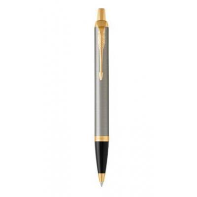 Parker pen: IM Brushed Metal - Grijs