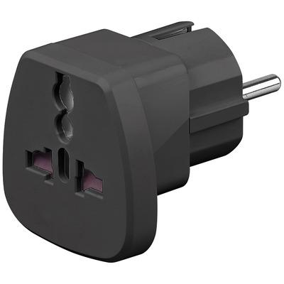 Goobay 94028 Stekker-adapter - Zwart