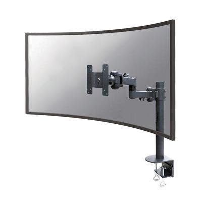 Neomounts by Newstar monitor bureausteun voor curved schermen Monitorarm - Zwart