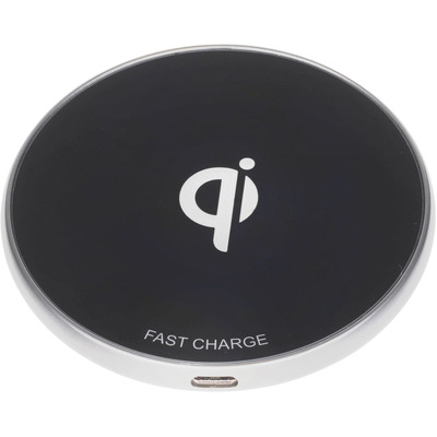 ESTUFF Wireless Charger Pad Oplader - Zwart