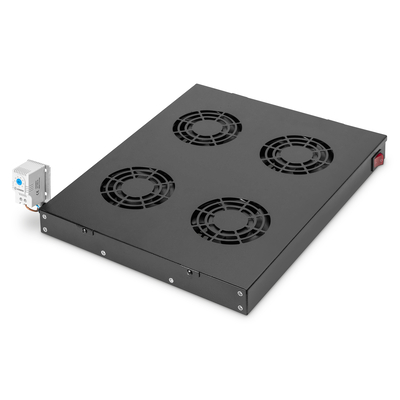 "Digitus Cooling Unit for 19"" Installation Rack toebehoren - Zwart"