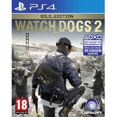 Ubisoft game: Watch Dogs 2 (Gold Edition)  PS4