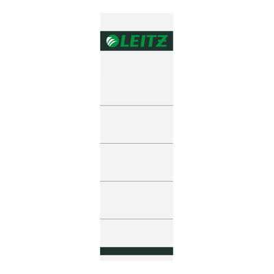 Leitz 57 x 190 mm, Grijs Label