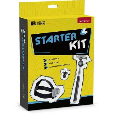 Speed-link : Starter Kit f/ GoPro - Zwart