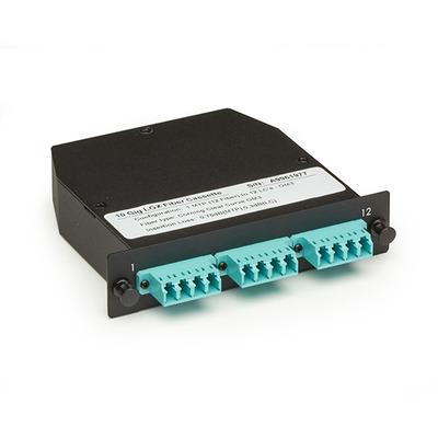 Black Box OM3 50-Micron Fiber optic adapter