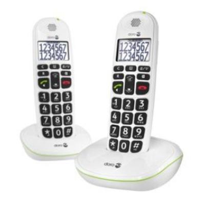 Doro PhoneEasy 110 Dect telefoon - Wit