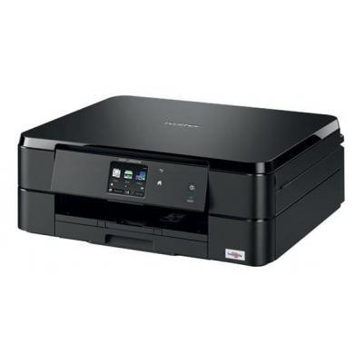"""Brother multifunctional: 10.16 cm (4 """") 1 - Netwerk A4 kleurenprinter - flatbed kleurencopier - kleurenscanner - Media ....."""