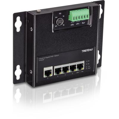 Trendnet TI-PG50F Switch - Zwart