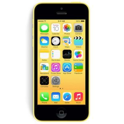 Apple smartphone: iPhone 5c 16GB (GSM) T-Mobile Unlocked Refurbished - Yellow