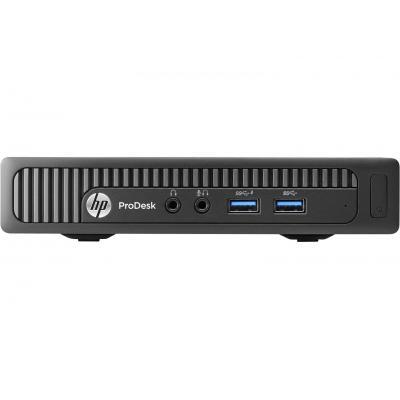 HP pc: ProDesk 400 G1 Mini Intel Core i3 - Zwart