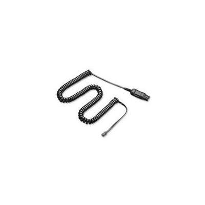 Plantronics kabel: A10-11 - Zwart