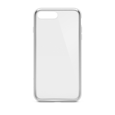 Belkin SheerForce Mobile phone case - Zilver, Doorschijnend