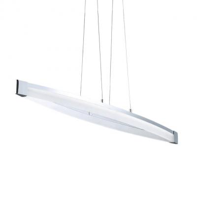 Wofi suspension lighting: VANNES - Chroom, Wit